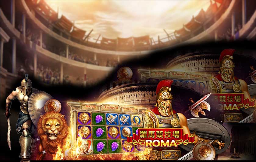 Have a great fun of playing Roma Slots